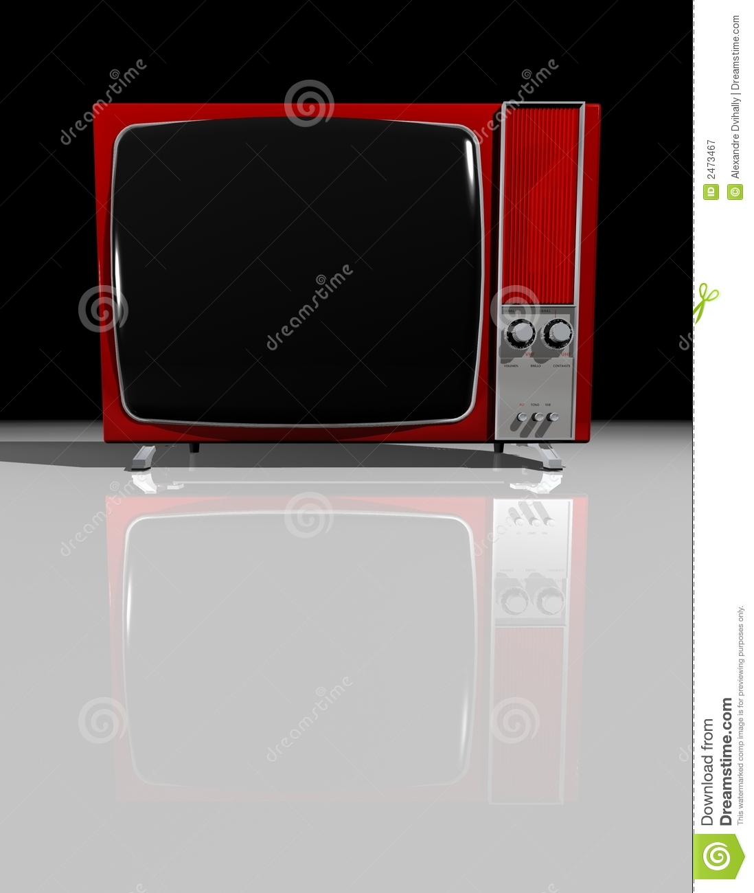 Old TV - RED Television