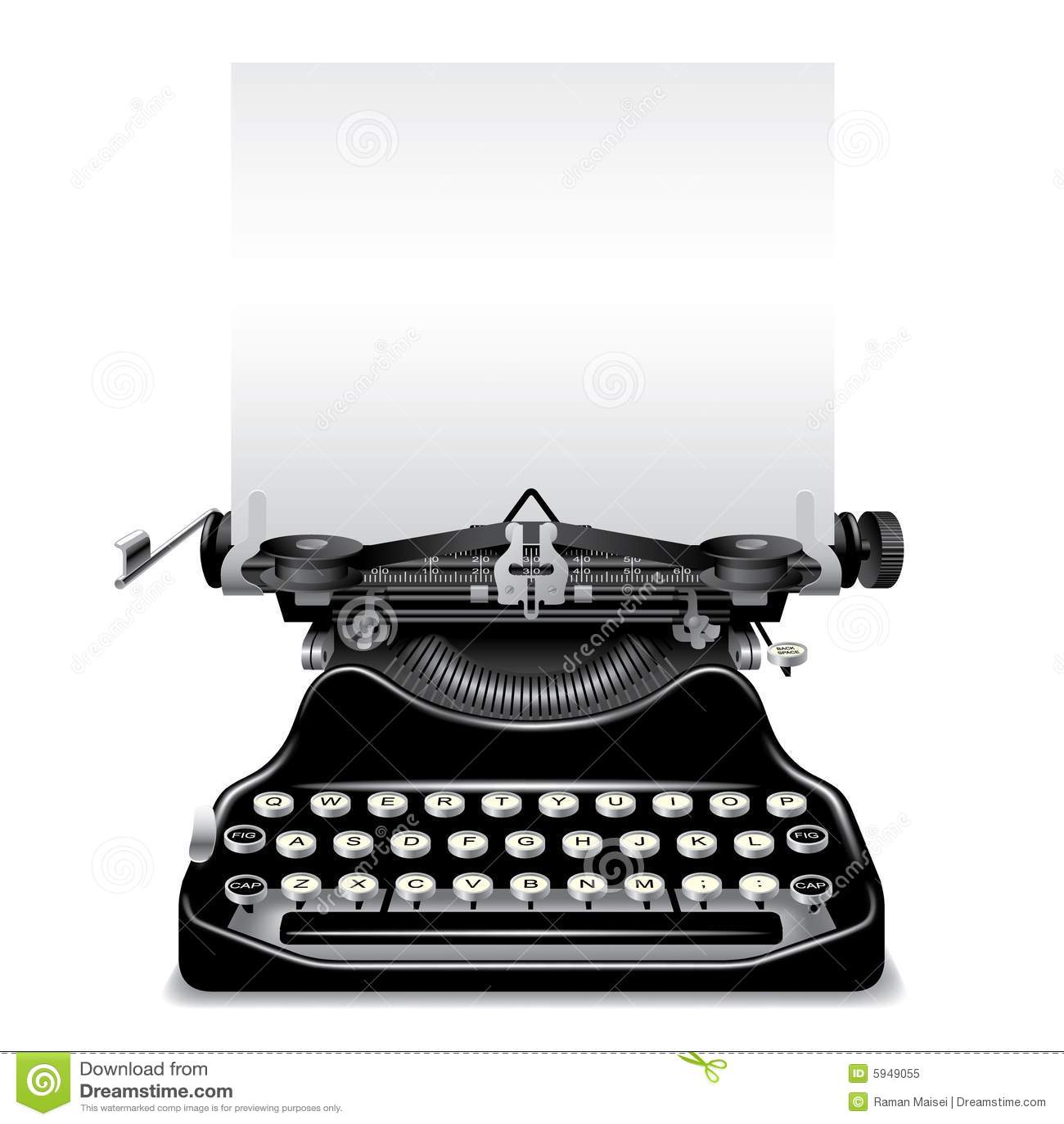 Old Typewriter Royalty Free Stock Photo Image 5949055