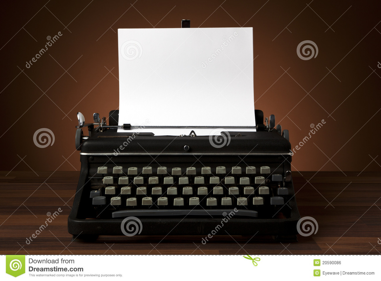 Royalty Free Stock Image Old Typewriter Blank Paper Image20590086 on Latest Old English Writing