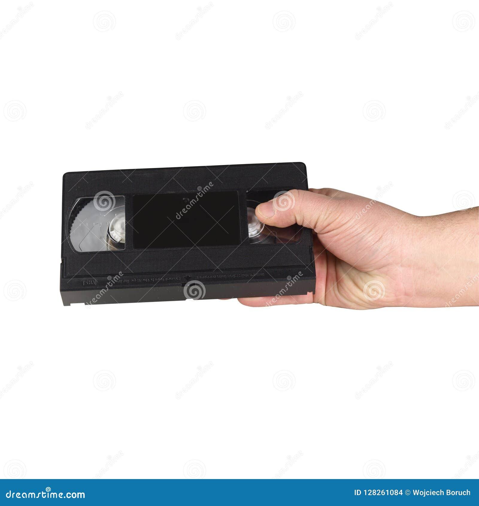 Old vhs cassette