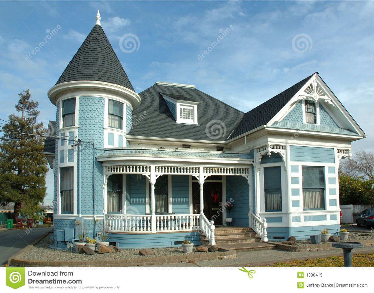 Old Victorian Home Stock Image Image Of Victorian Siding