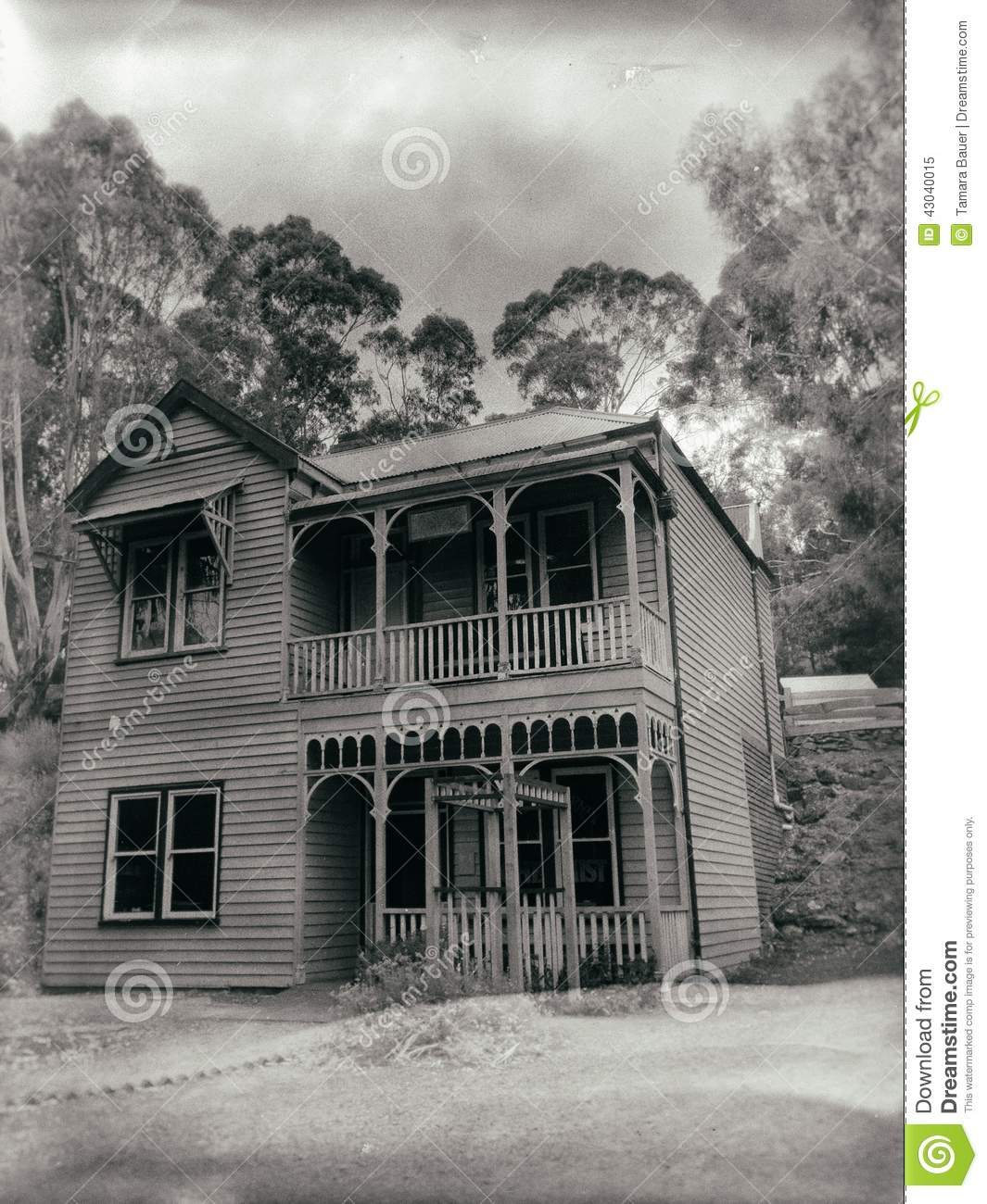 Old victorian home editorial image image 43040015 for Double storey victorian homes