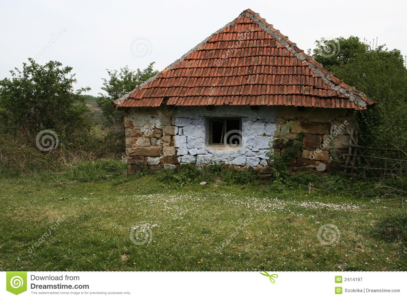 Old Village House Stock Image Image Of Rustic Dwelling