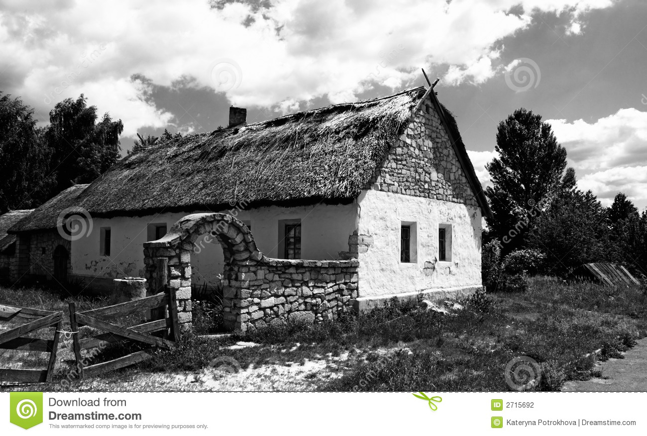 Old village house stock photo image of agriculture rural for House photography