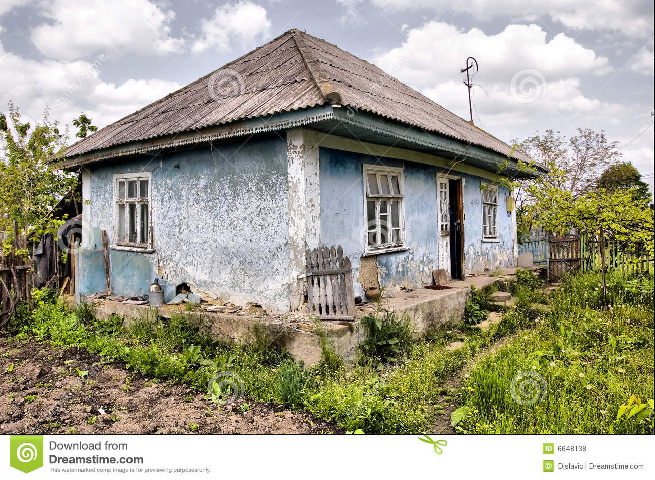 Old Village House Royalty Free Stock Photos Image 6648138
