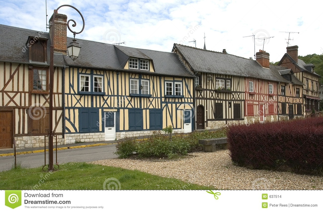 Old Village Houses Stock Photo Image Of Ancient French
