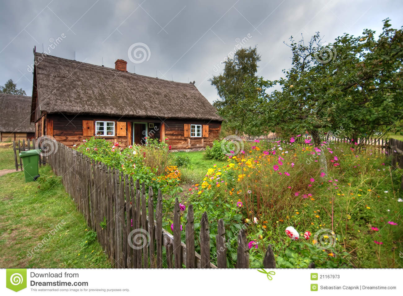 Old Village In Poland Stock Photos - Image: 21167973