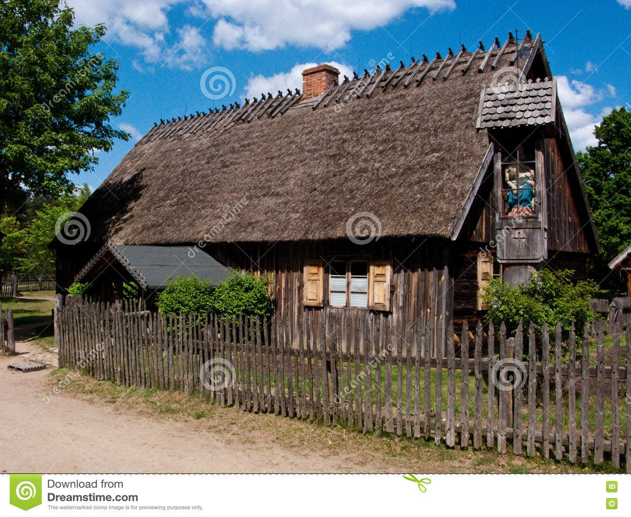 Old village in Poland