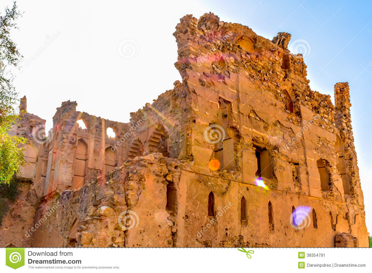Old Village Ruins In Ibra Oman Stock Image Image: 38354791