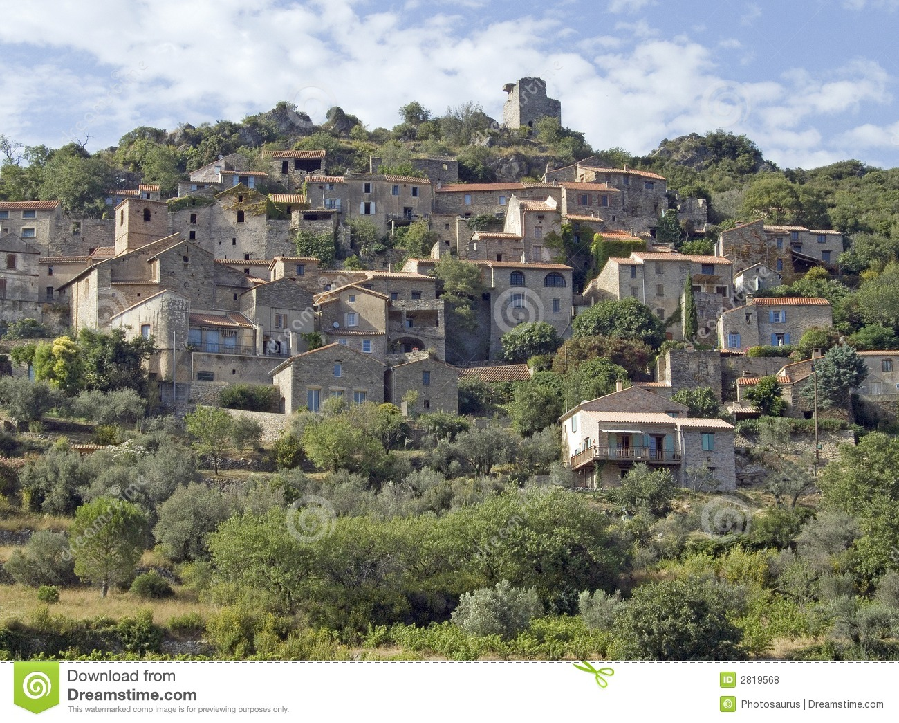 Old Village In South France Royalty Free Stock Photos - Image: 2819568