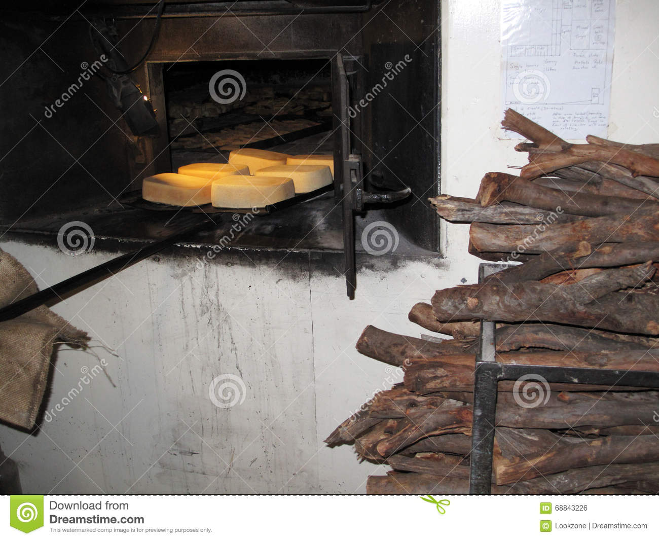 Old Vintage Bakery Oven Stock Photo Image Of
