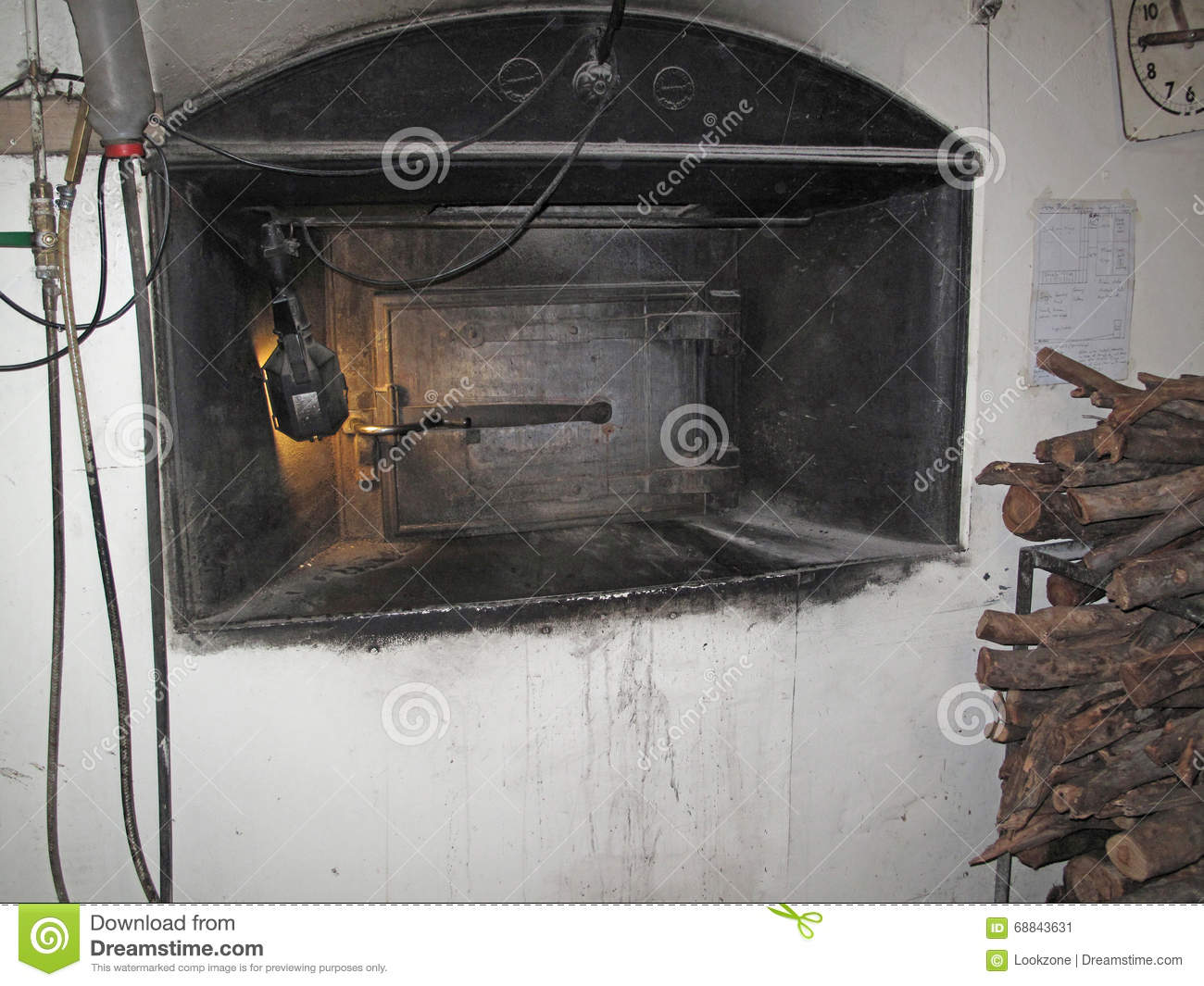 Old Vintage Bakery Oven Stock Photo Image 68843631