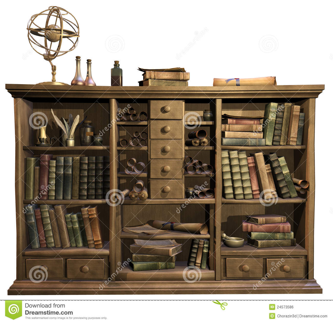 Old Vintage Book Case Royalty Free Stock Image Image - Old book case