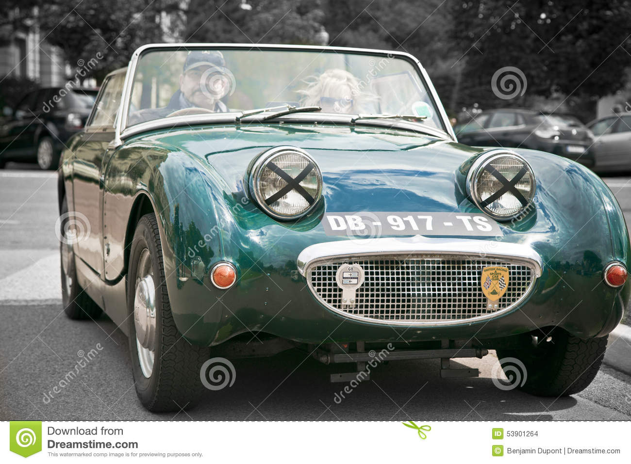 Old Vintage British Convertible Car Austin Editorial Stock Image ...