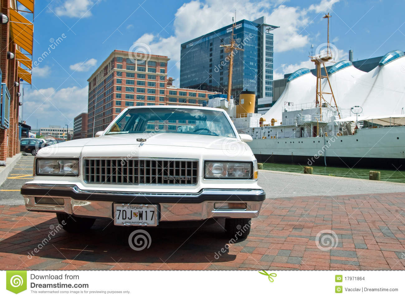 Old Vintage Chevrolet Parked In Baltimore Editorial Stock Image Image 17971864