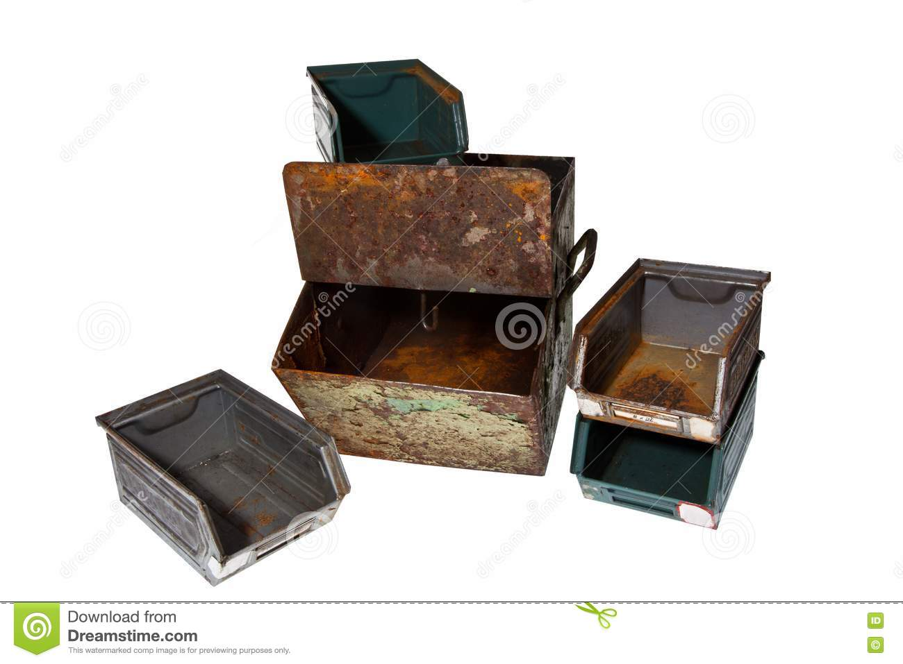 Old vintage containers stock photos image 18737933 for Decor 718 container