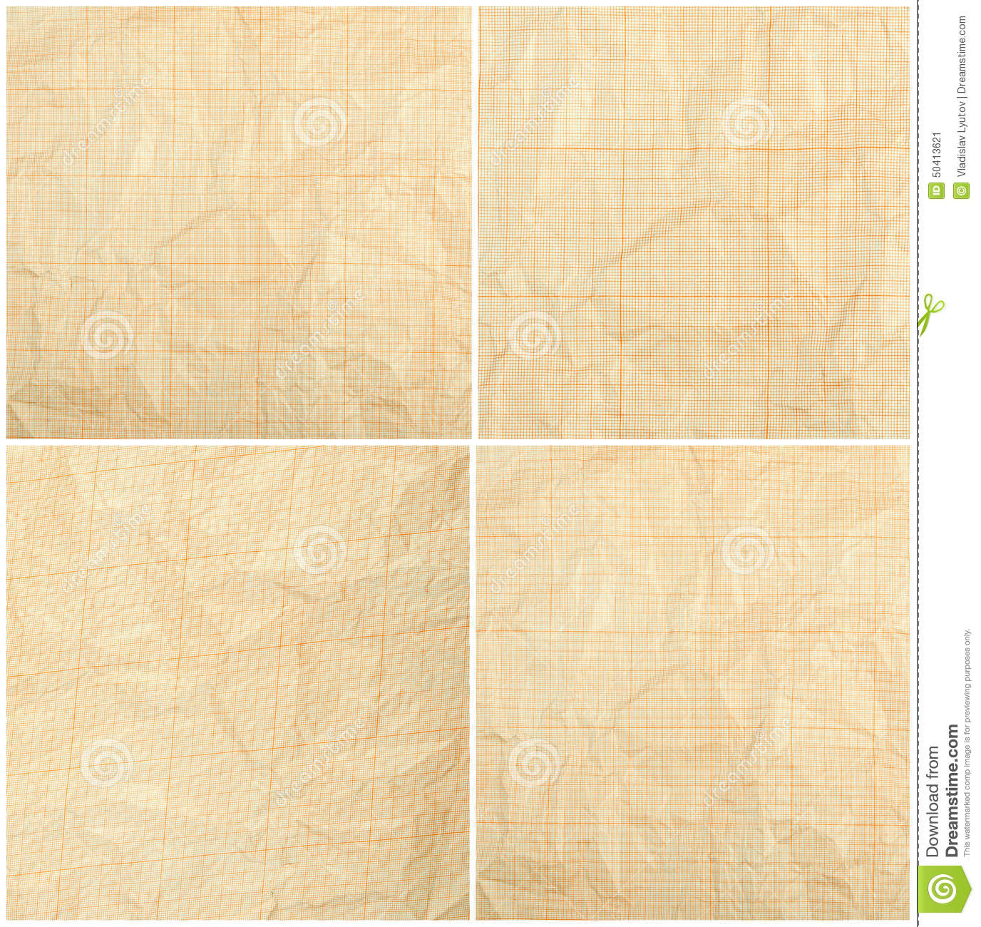 old vintage discolored dirty graph paper stock image image of