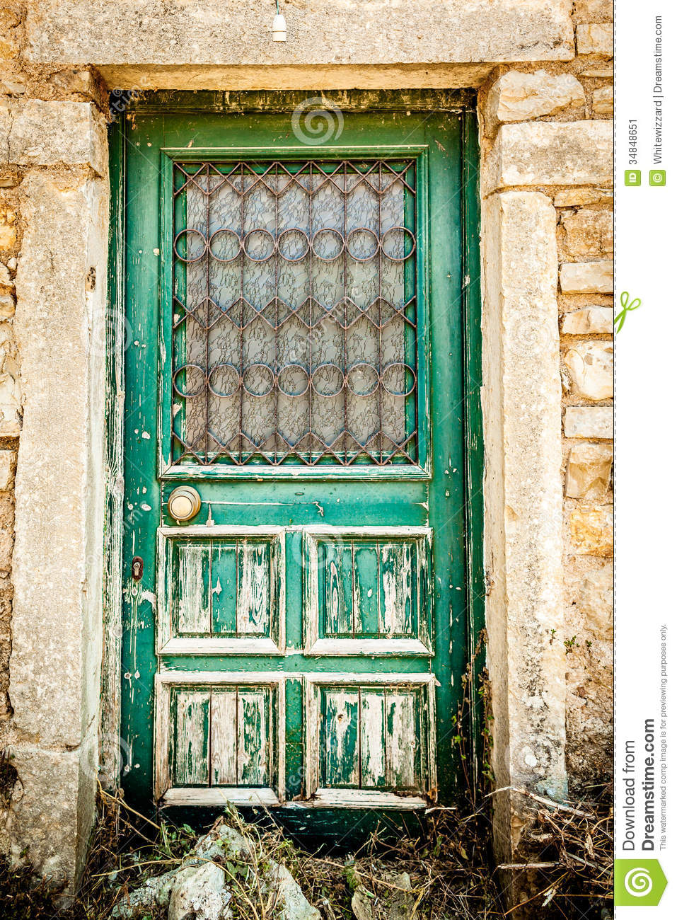 Royalty Free Stock Photo. Download Old Vintage Door ...