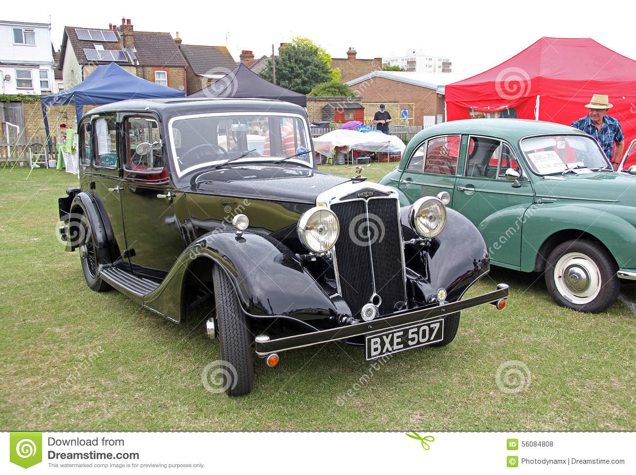 Old Vintage Lanchester Classic Car Editorial Stock Photo Image Of - Ideal classic cars car show