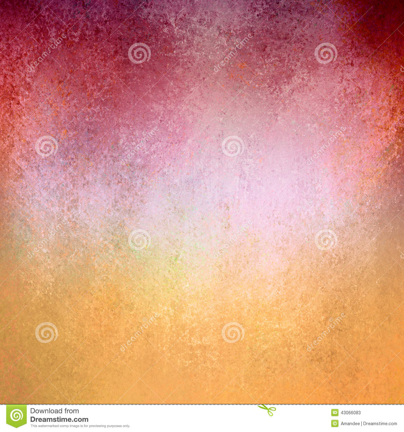 Old vintage red gold paper background texture