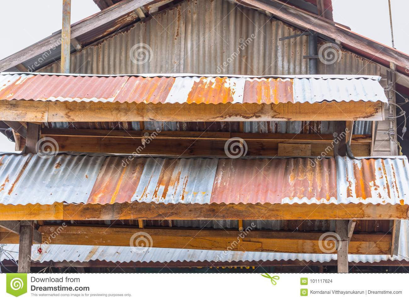 Old Red Rust Roof Background Stock Images 1 133 Photos
