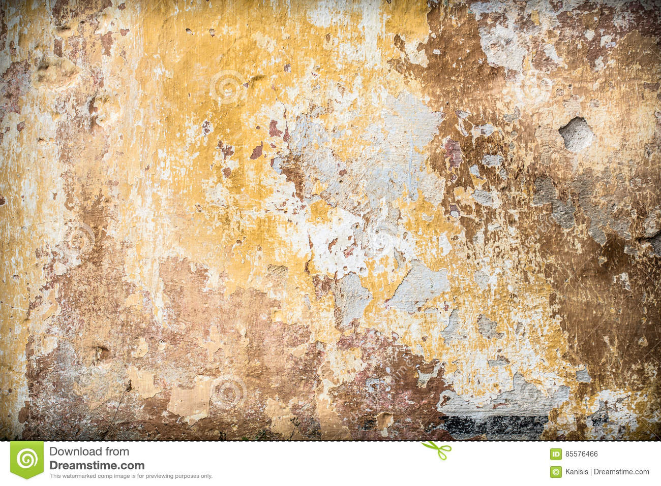 Dreamstime.com & Old Vintage Rustic Wall With Cracked Paint Layers Stock Photo ...