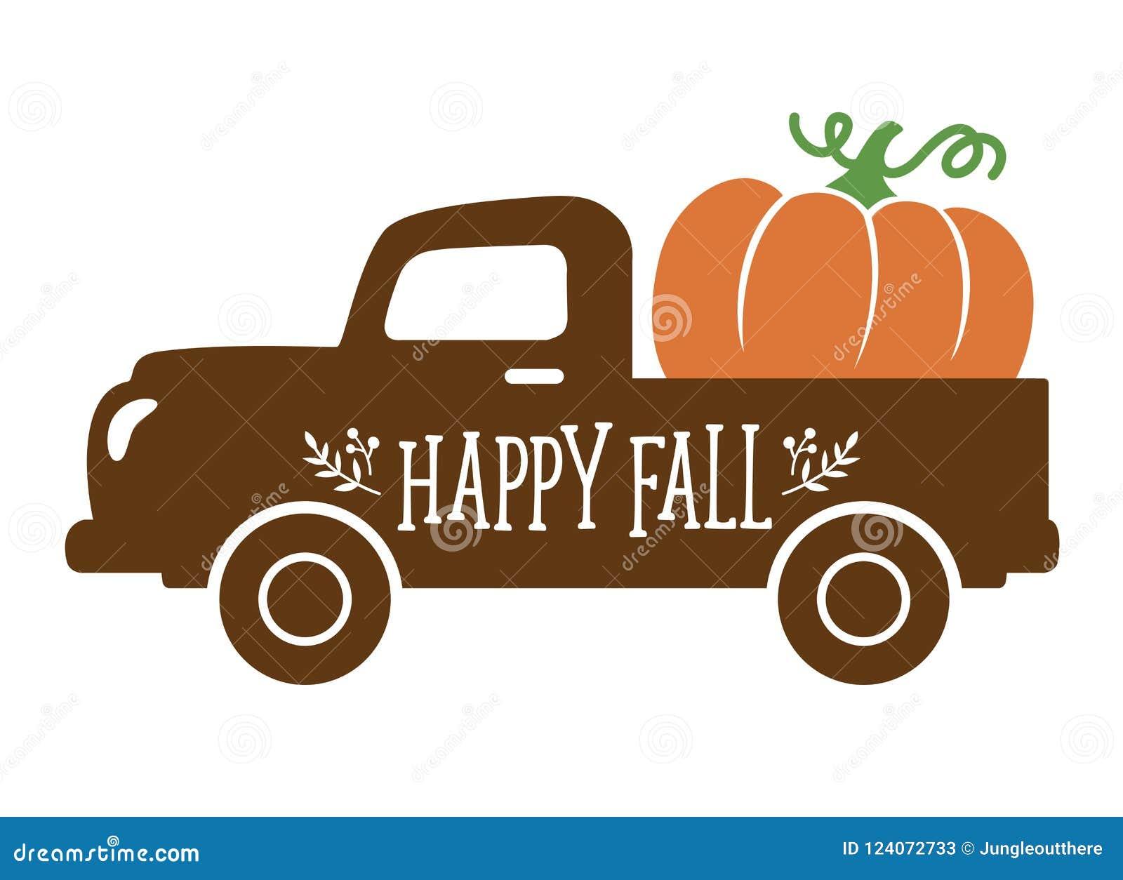 Fall Truck Stock Illustrations 576 Fall Truck Stock Illustrations Vectors Clipart Dreamstime