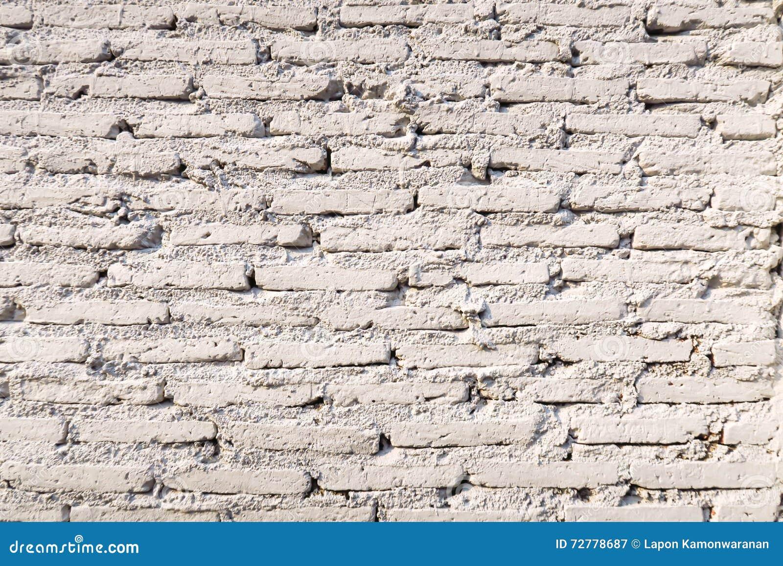 Vintage White Brick Background