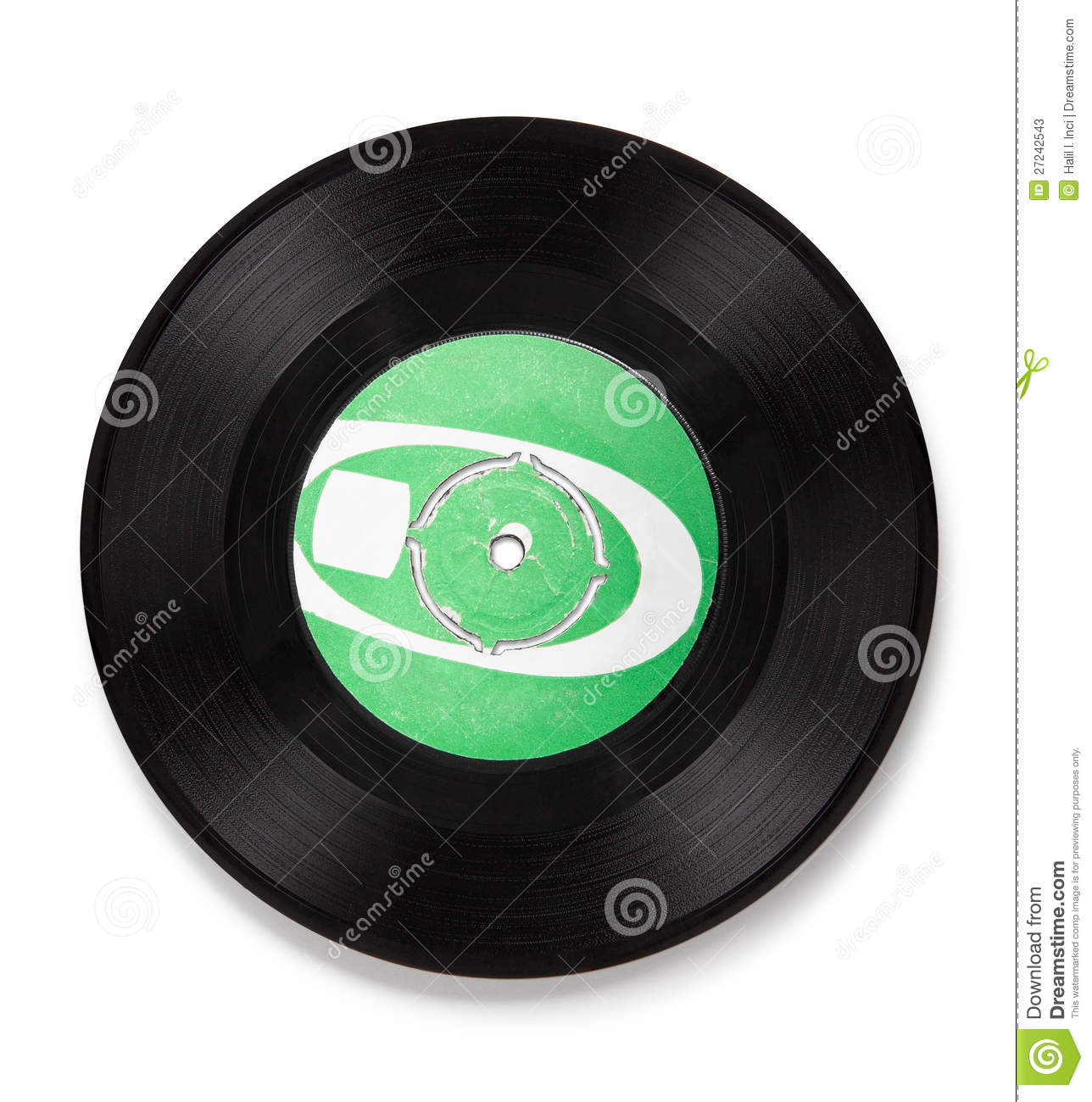 Old Vinyl Record Clipping Path Stock Photos Image