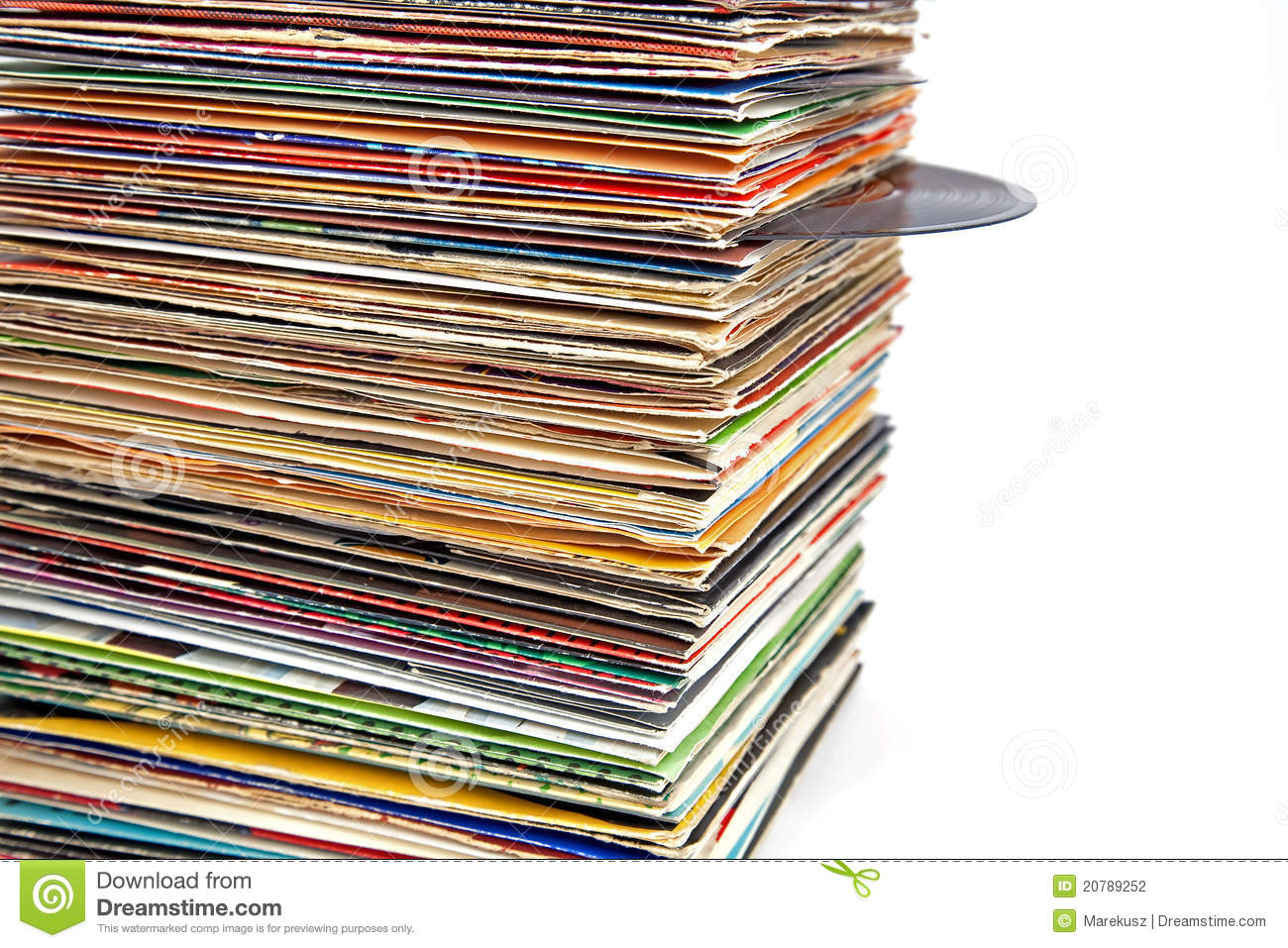 Old vinyl records stock photography image 20789252 for How design com