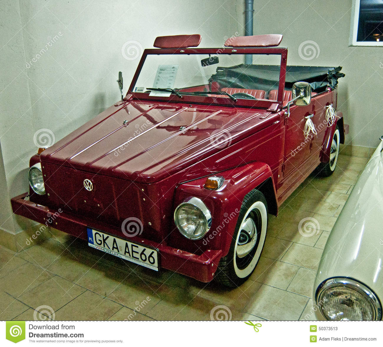 Old Volkswagen In A Car Museum Editorial Stock Photo Image Of
