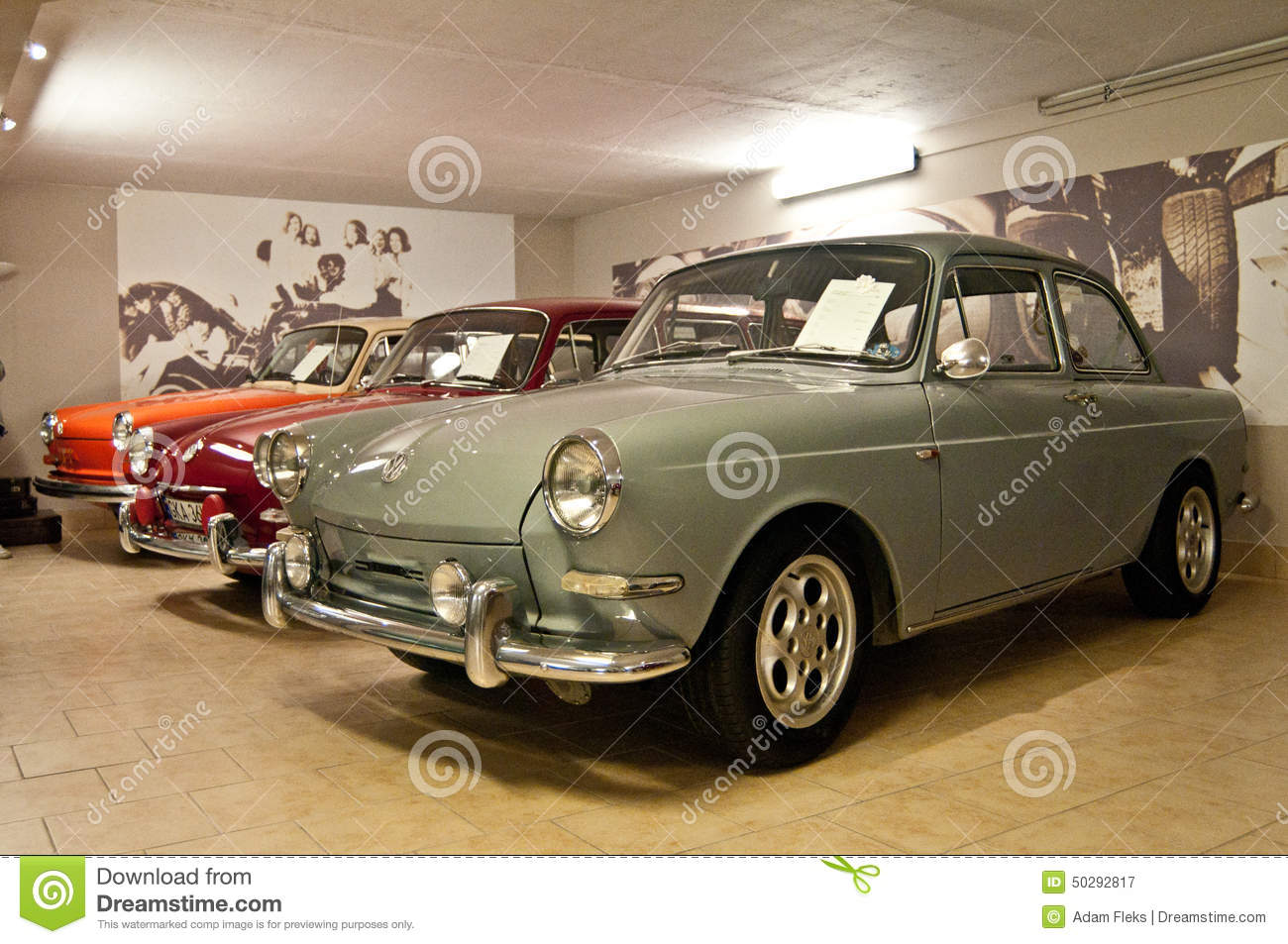 Old Volkswagen In A Car Museum Editorial Photography Image Of
