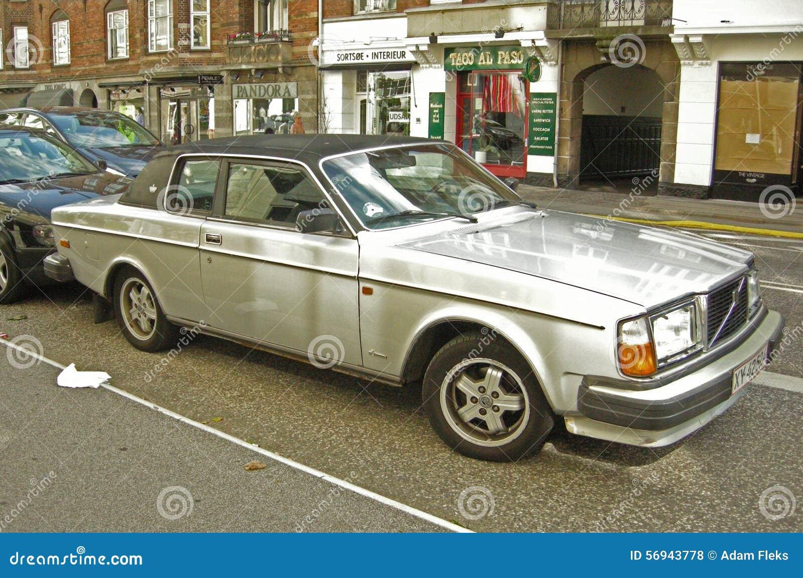 Vintage Volvo Car Parked Stock Photo 56943778 Megapixl