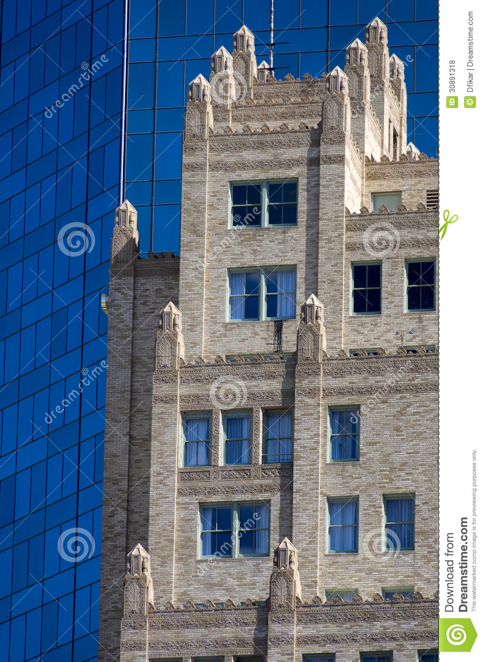 Old Vs New Contrasting Architecture Styles Stock Photo Image Of