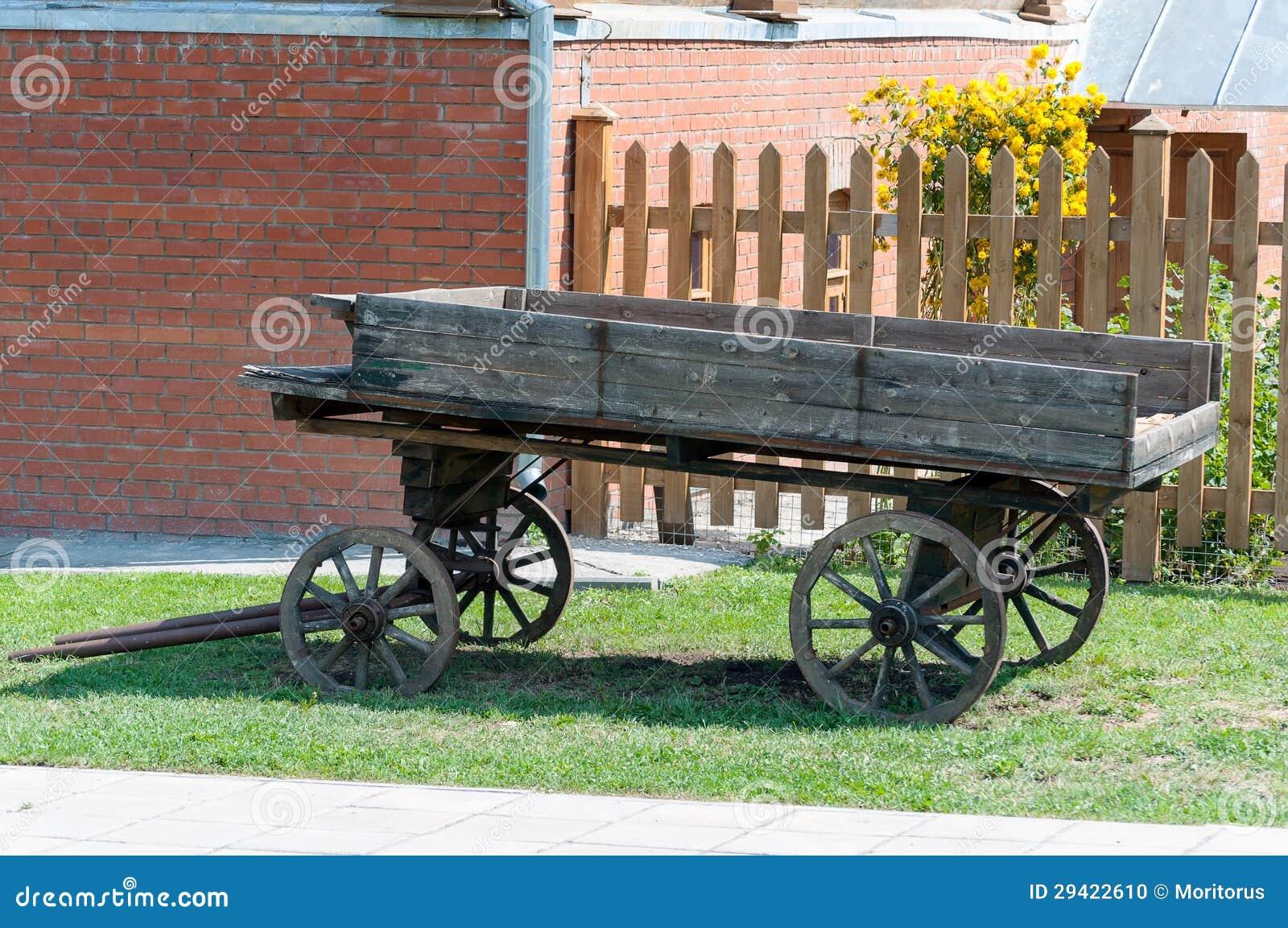 Old Wagon Stock Photo