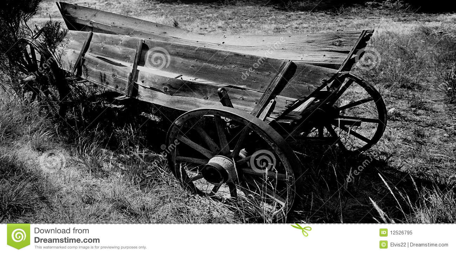 Old Wagon, Colorado,USA Royalty Free Stock Photo