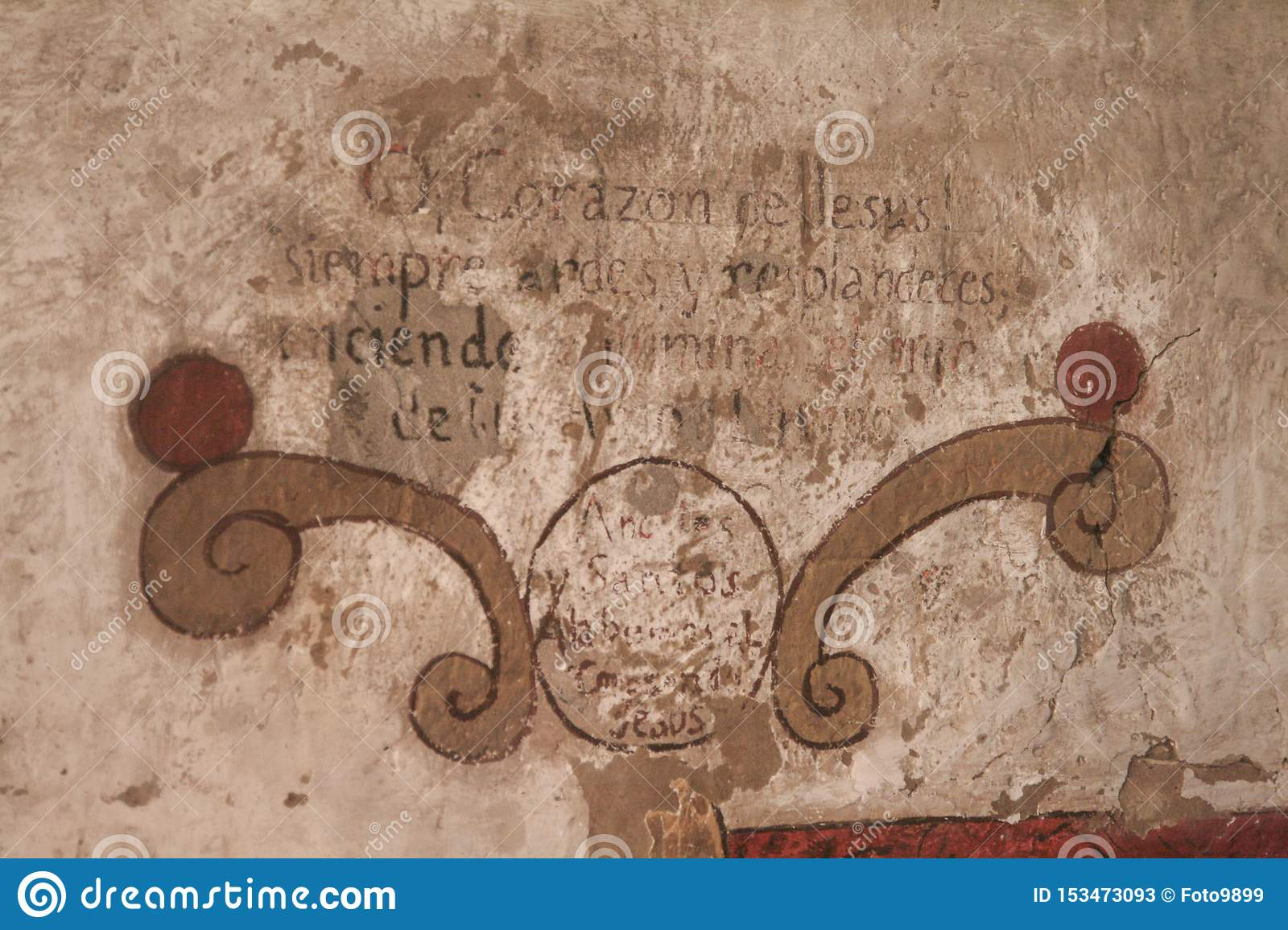 Old wall font