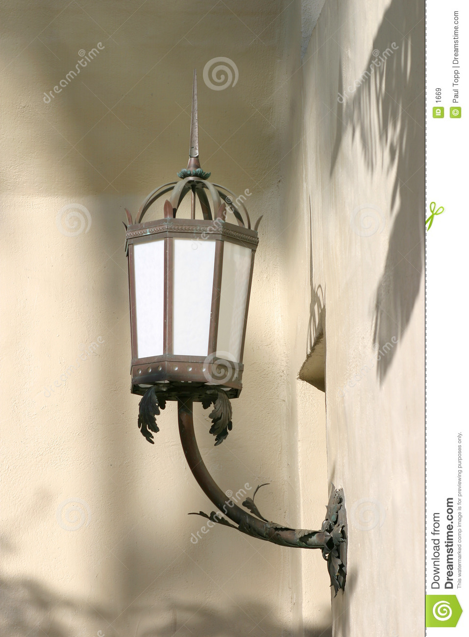 Old Wall Light Lamp