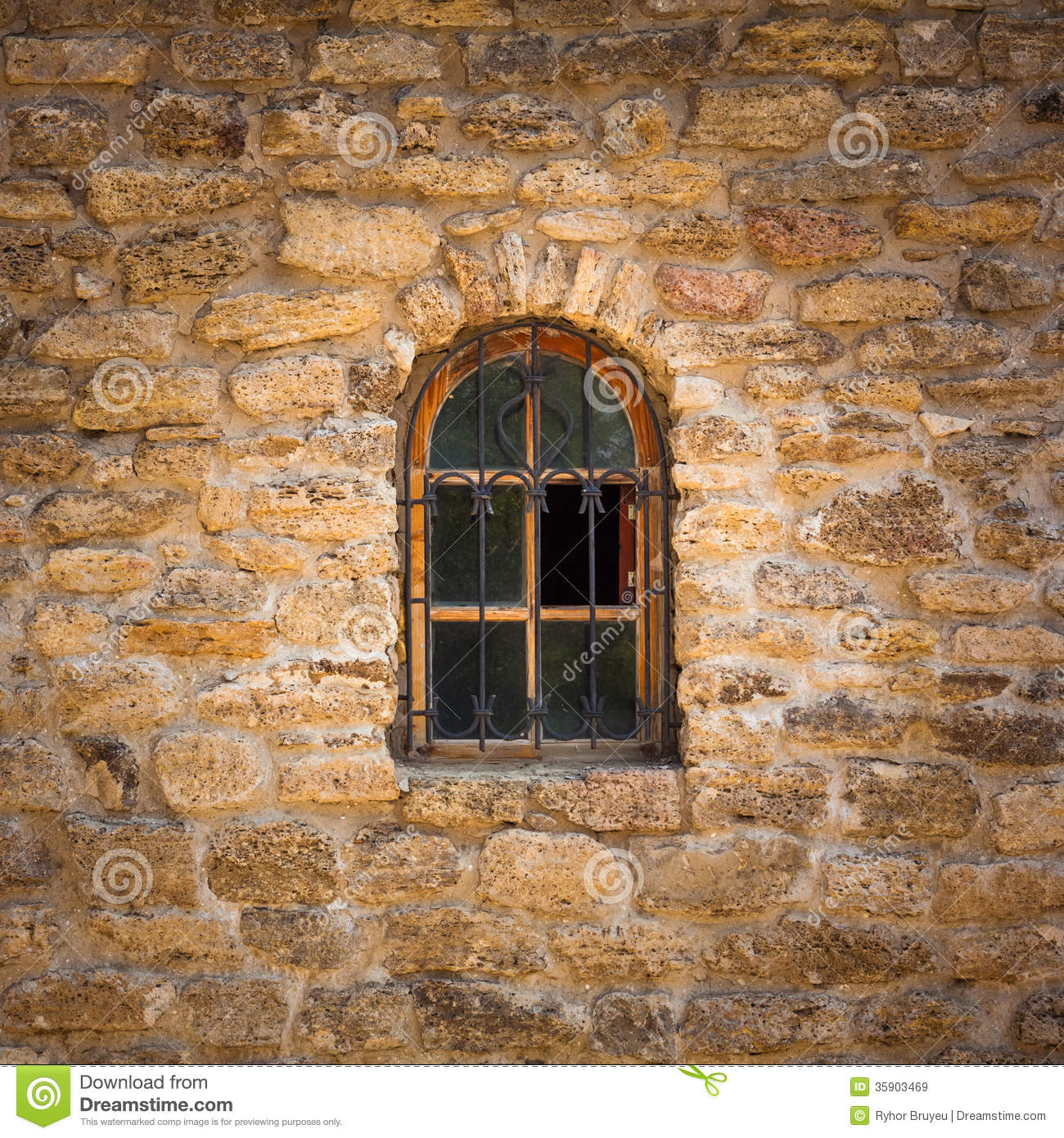 Old Wall Made Of The Jerusalem Stone Royalty Free Stock