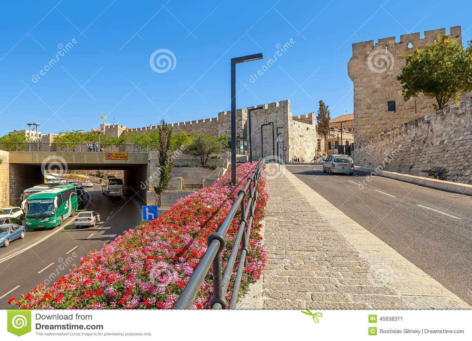 Urban plan Jerusalem Israel