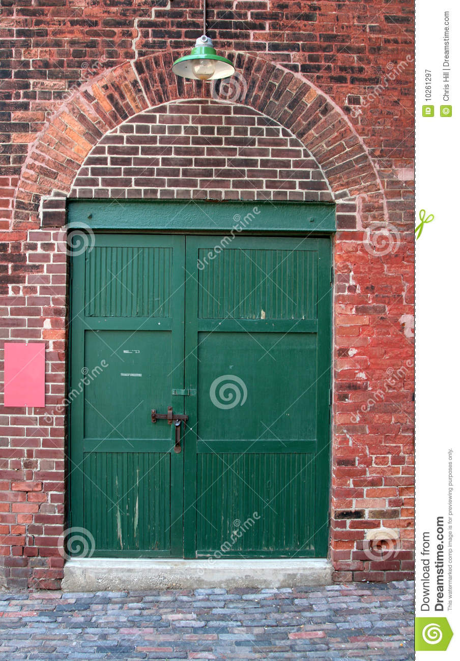 Old Warehouse Door Royalty Free Stock Photography Image