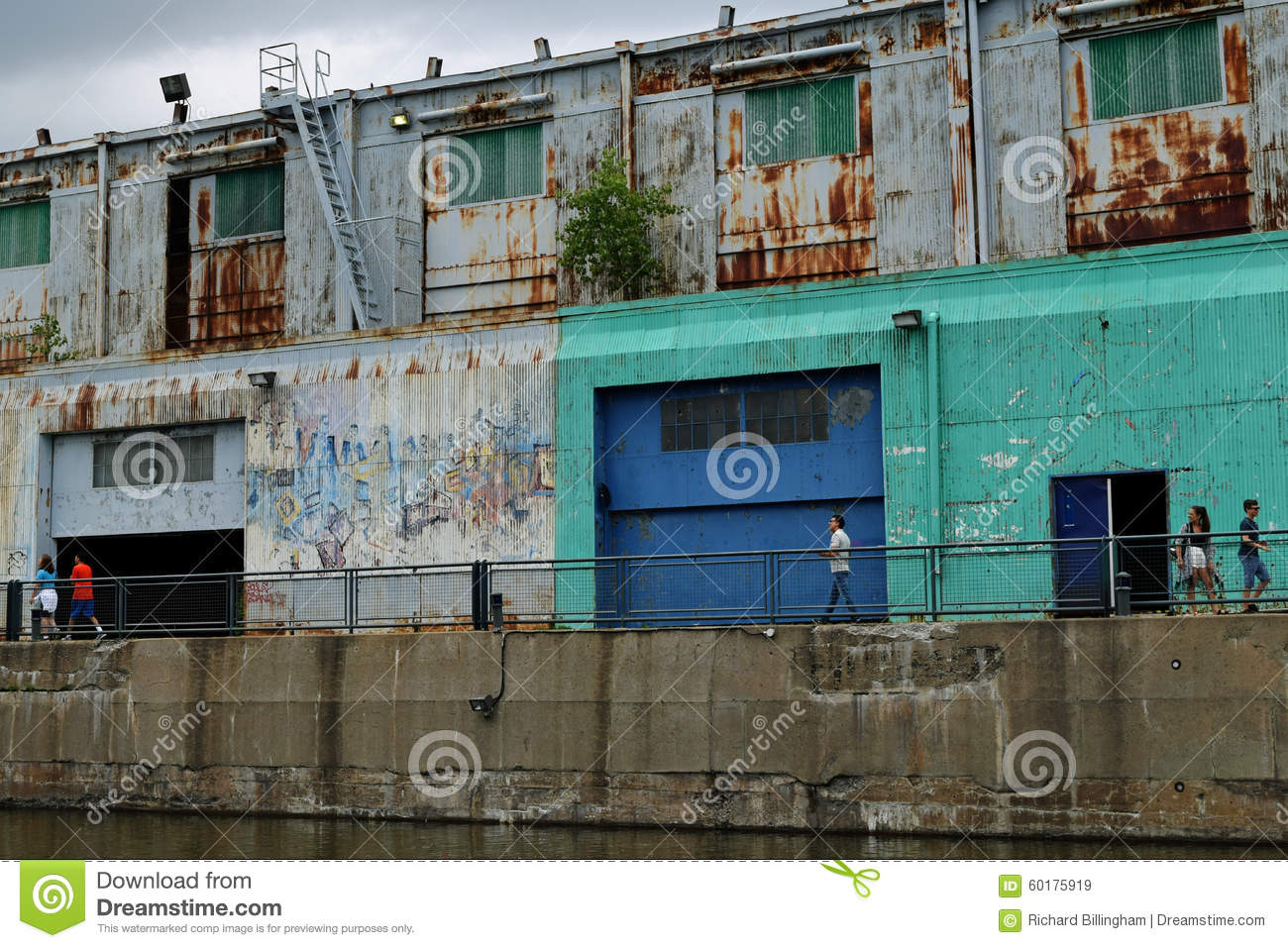 Old warehouse vieux port montreal quebec canada editorial stock image image 60175919 - Restaurants old port montreal ...