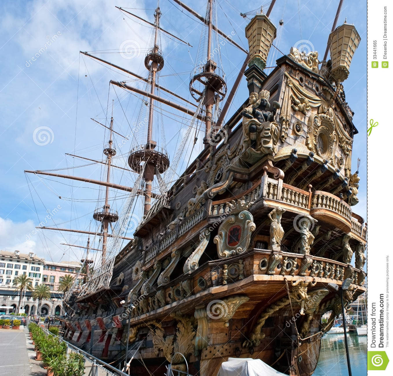 The Old Warship Editorial Image - Image: 33441665