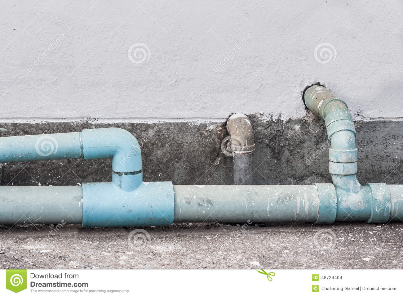 Old leaking pipe royalty free stock photo cartoondealer for What are old plumbing pipes made of
