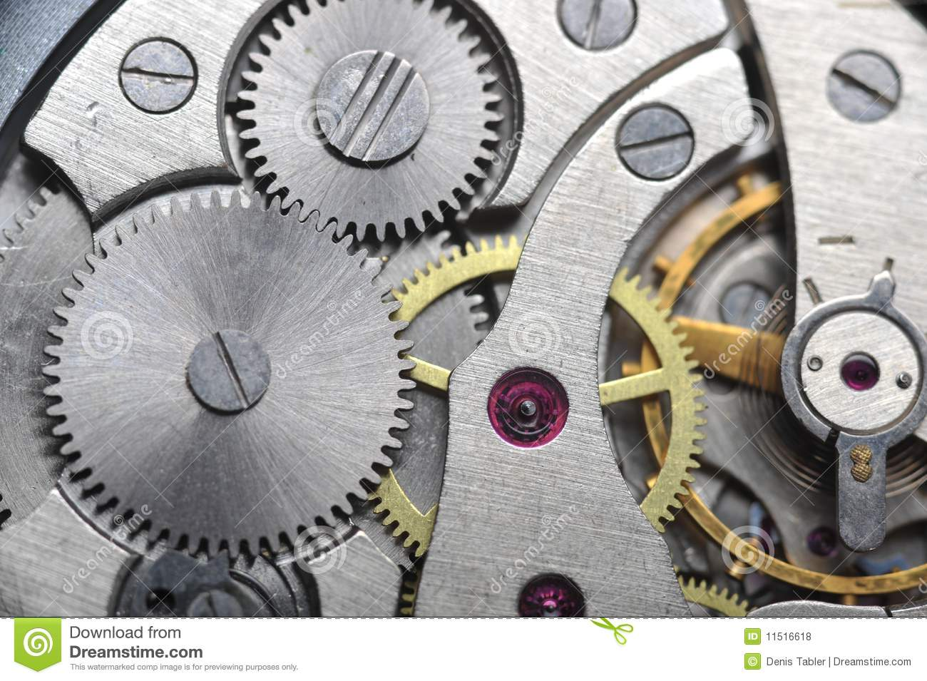 Old Watch Gears Close Up Royalty Free Stock Photos - Image ...