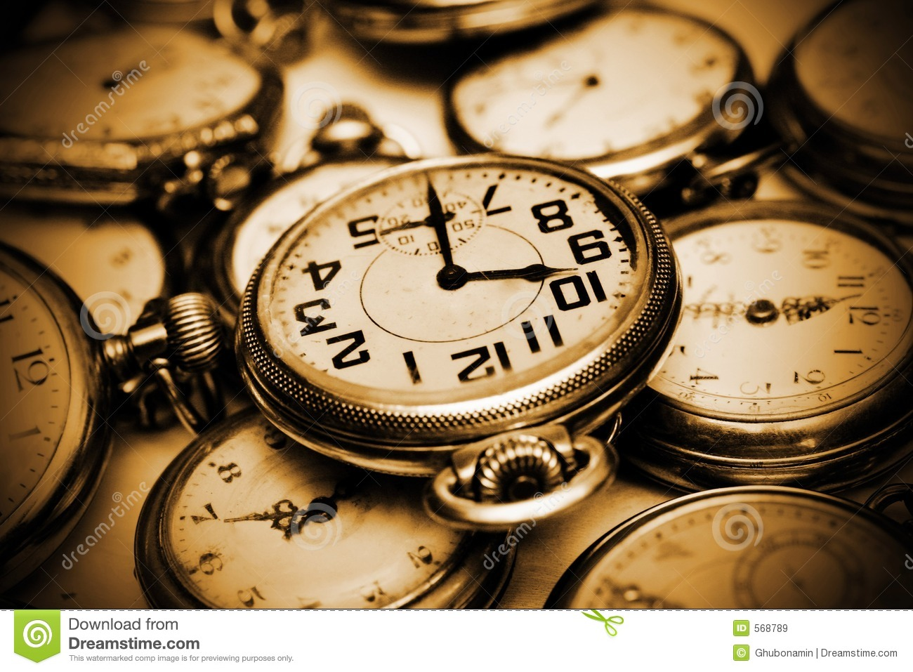 Clock Watching Clipart