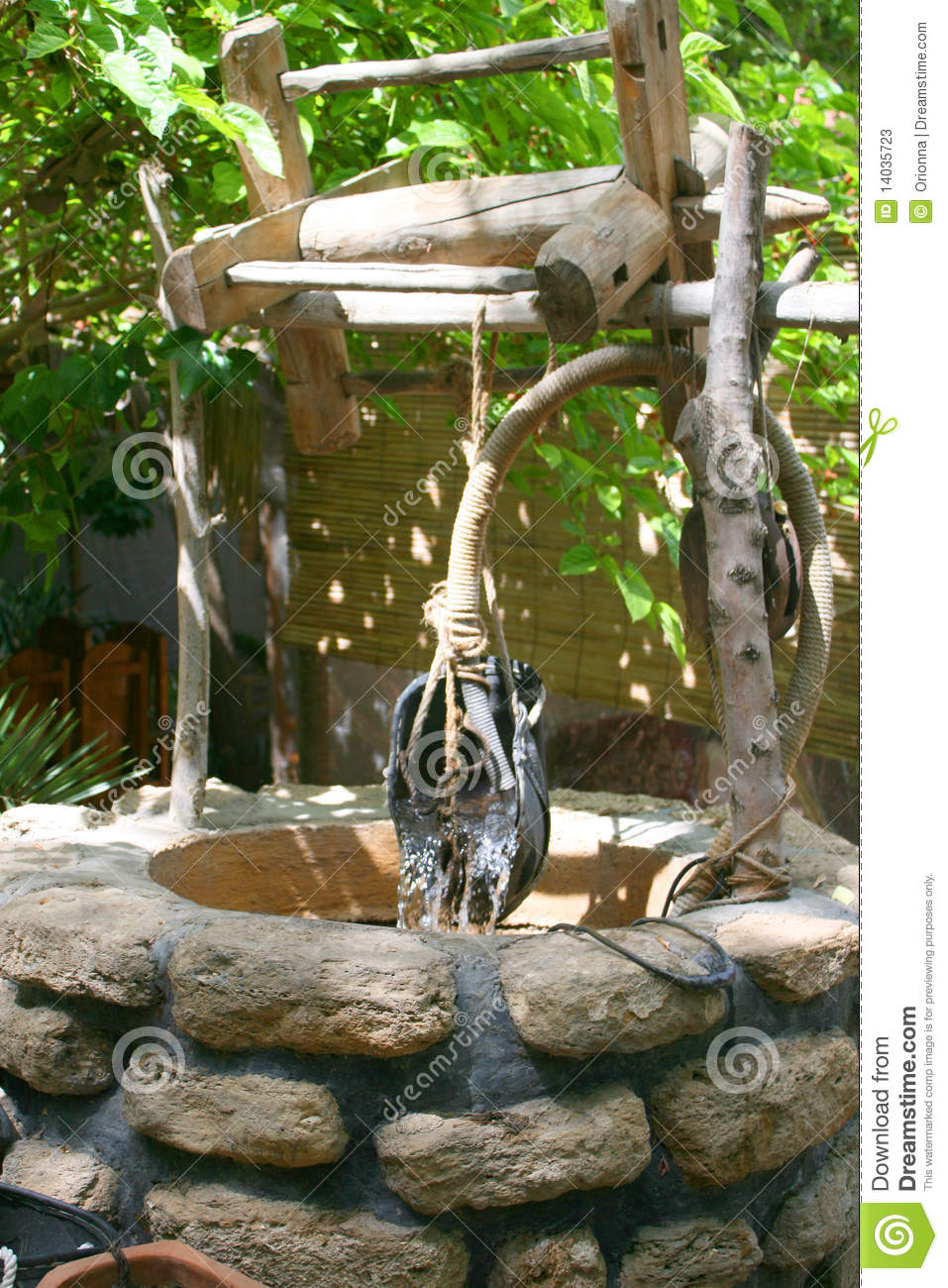 An Old Water Well Stock Photos Image 14035723