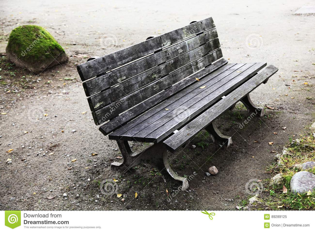 Park Bench Stock Image Image Of Peaceful Style Shape 89289125