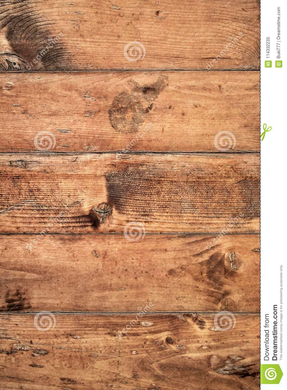Old Weathered Rotten Cracked Knotted Pinewood Planks Rough Grunge