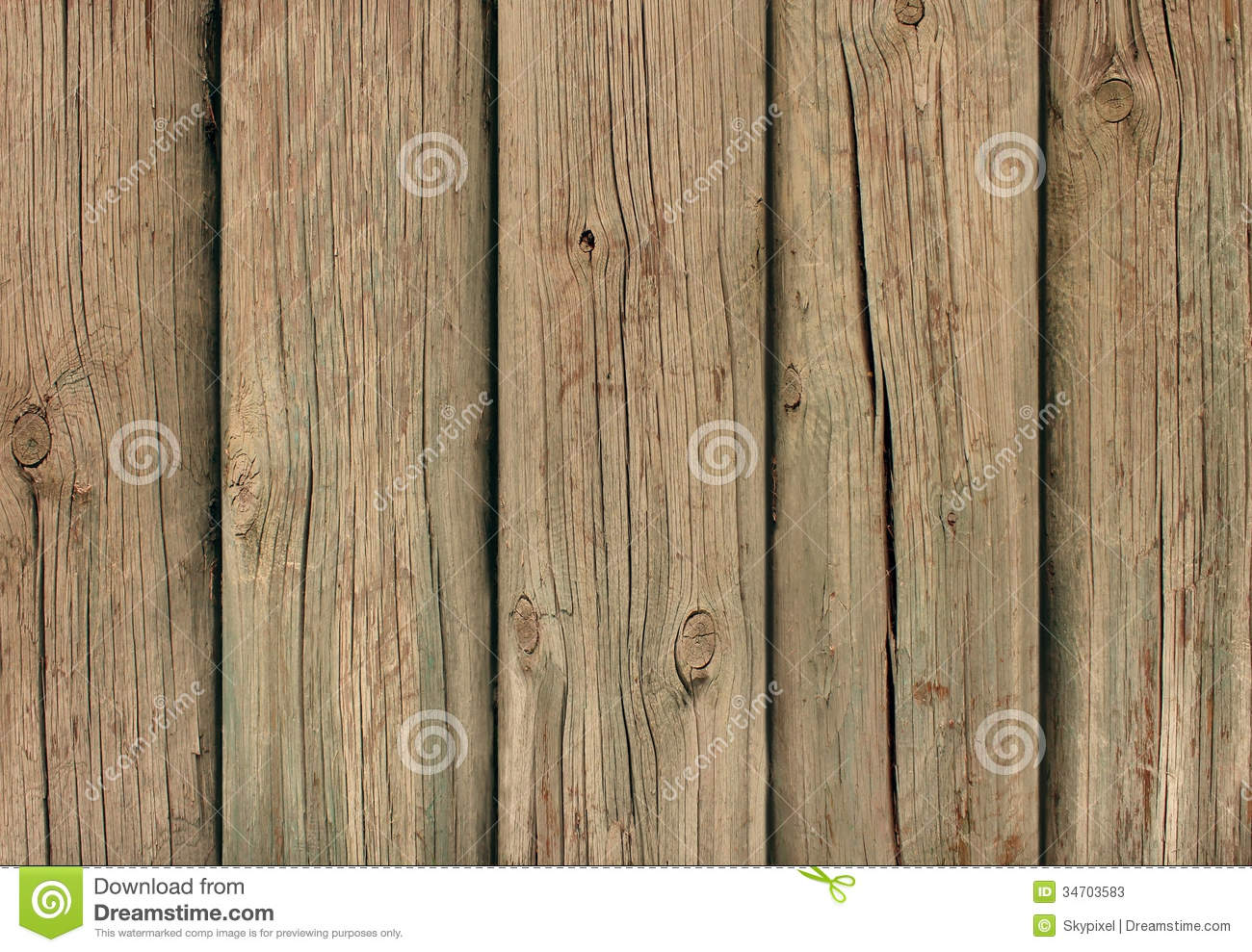 Old weathered wood background stock image
